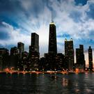 Chicago at sunset. Photo: Deposit