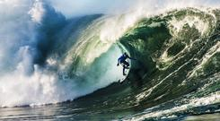Nick Von Rupp surfing at Mullaghmore. The 2017 Shore Shots Festival takes place in Sligo. Photo: Ian Mitchinson