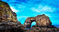 The Great Pollet Sea Arch, Co Donegal. Photo: Iain Miller, UniqueAscent.ie