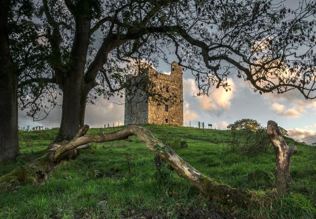 Audley's Castle, Castle Ward. A key Game of Thrones location in Ireland. Picture by Bernie Brown