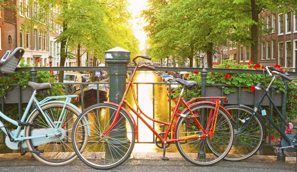 Amsterdam is built on an intricate system of canals, and a canal cruise - or a bike ride - is a great way to get an overview of the city's layout