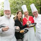 Aidan Mc Manus of the King Sitric with Georgina Campbell, Peaches Kemp and Paul Flynn. Photo: Paul Sherwood