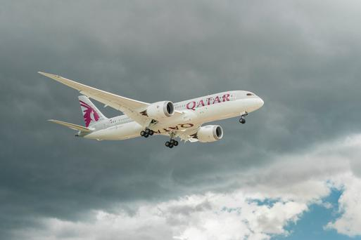 Qatar Airways commences flights between Dublin and Doha this summer. Photo: Deposit
