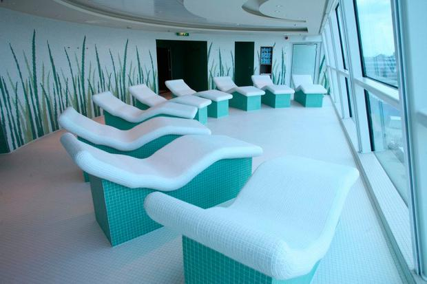 The spa in Celebrity Eclipse