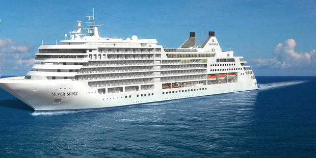 'Silver Muse' takes its virgin voyage
