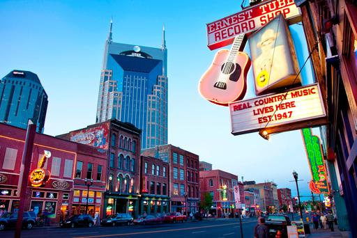 The ATandT Building in Nashville, Tennessee.