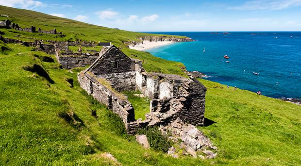 Looking to leave the rat race? 'Unique' property on iconic Great Blasket Island is up for sale - complete with its own beach
