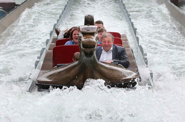 The Viking Voyage at The Park. Photo: Leon Farrell / Photocall Ireland