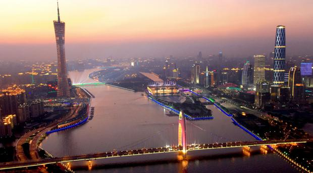 The colourful, neon-lit city of Guangzhou, the third biggest in China and home to some 14m people, straddles the impressive Pearl River