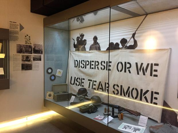 Inside the Museum of Free Derry