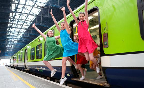 'Kids Go Free' on public transport services covered by the Leap card from July 3 to 16, 2017.