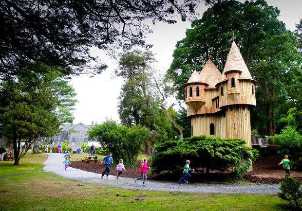 Birr Castle's tree house