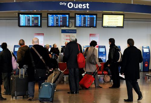 Paris' Orly airport. Photo: BERTRAND GUAY/AFP/Getty Images