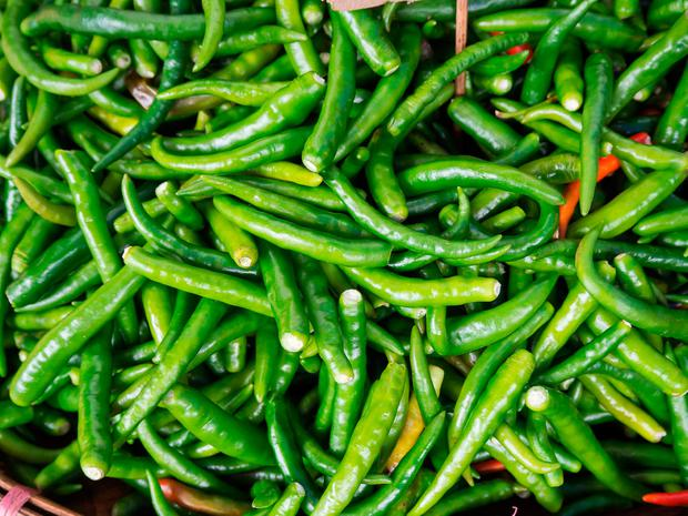 Green chillies. Could they pay for your holiday? PA Photo/thinkstockphotos.