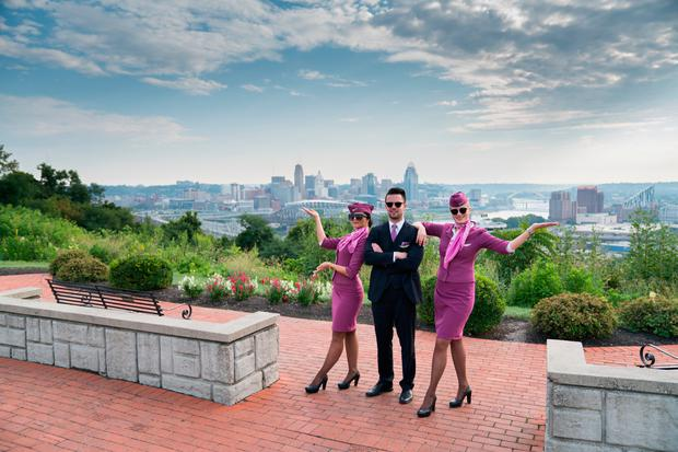 WOW air cabin crew in North America