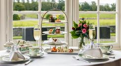 Afternoon tea at Luttrellstown Castle
