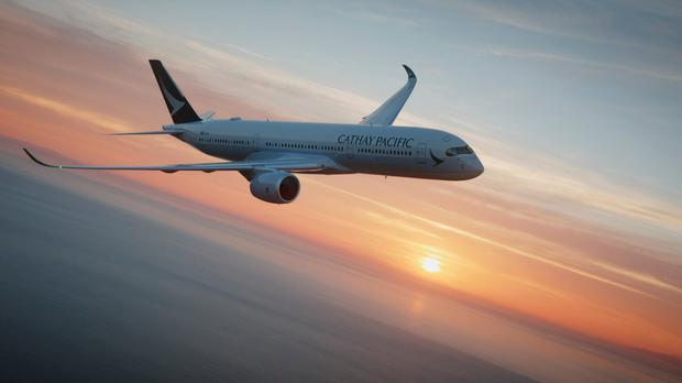 Cathay Pacific stock image