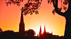Armagh's skyline. Photo: Northern Ireland Tourist Board