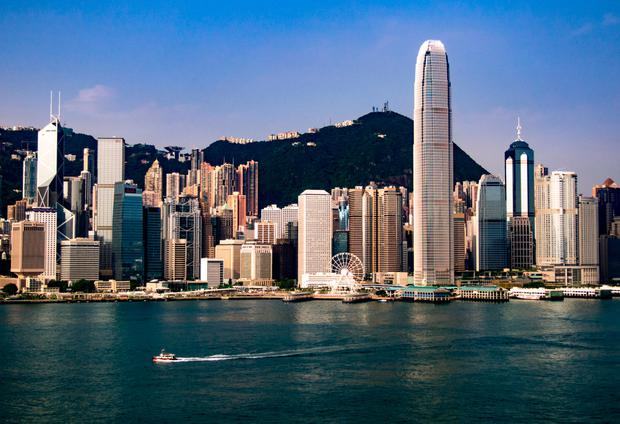 Hong Kong skyline. Photo: David Dawson