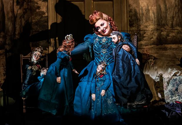Wexford Opera Fest Gilda Fiume in title role of Maria de Rudenz by Donizetti. WFO 2016 Photo by Clive Barda.jpg