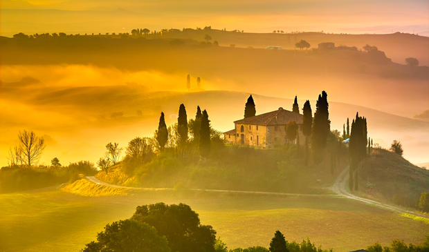 Early morning in Tuscany. Photo: Deposit