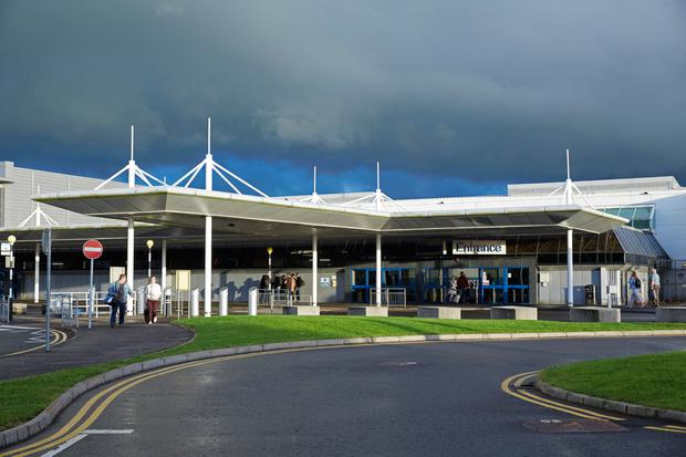 Belfast International Airport. Ryanair has suspended its London Gatwick service to summer 2018.