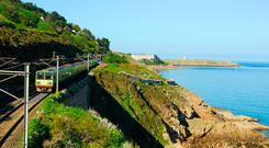 The Dart suburban rail follows the curve of Dublin Bay, offering several options for an afternoon out.