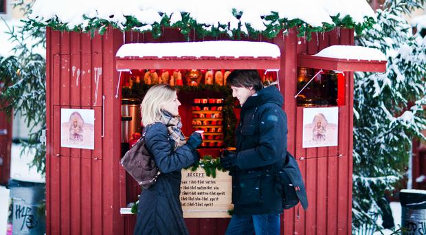 Food is an important part of the Christmas market experience