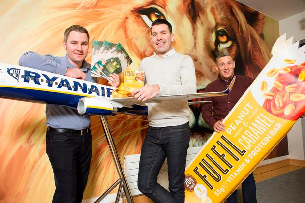 Ryanair's new menu launch