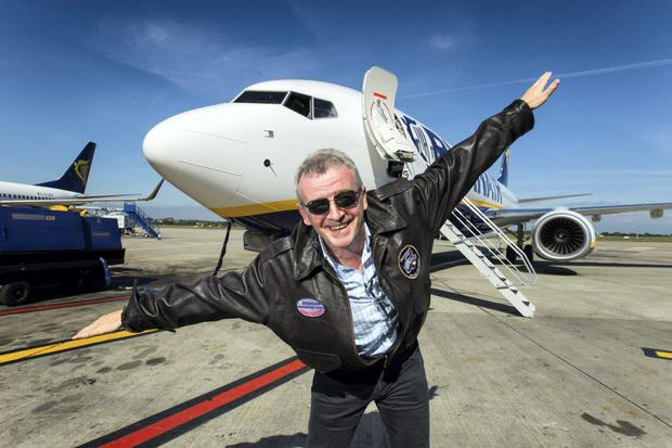 In 2014, Ryanair CEO Michael O'Leary landed at Dublin airport with the first of Ryanair's new Boeing 737-800 NG aircraft from Seattle. The aircraft has become a staple for Irish travellers.