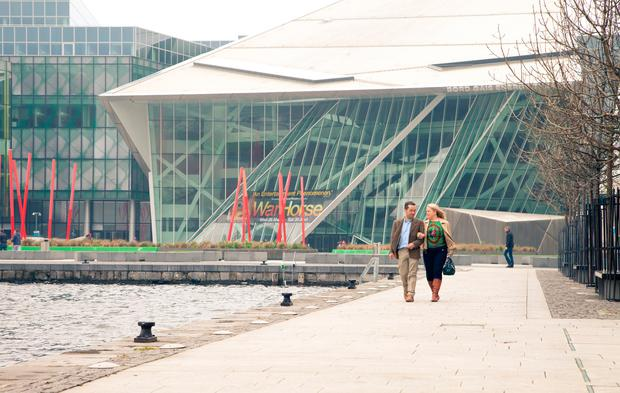 Grand Canal Dock, Dublin. Photo: Fáilte Ireland