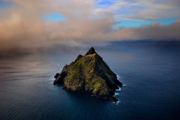 Skellig Michael, home to one of Europe's better known but least accessible monasteries. The word 'Scellic' means a steep rock. Photo:Valerie O'Sullivan