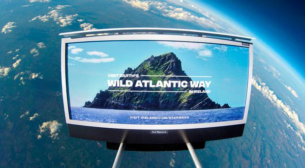 Tourism Ireland launches first ever tourism campaign in space (well, technically)
