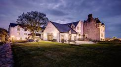 Ballygally Castle - At night. Photo: Tourism Northern Ireland