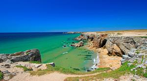 Brittany - famed for soft white sands and surf