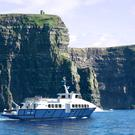 Artist's impression of the new Doolin2Aran Ferries cruise ship currently being built in France.
