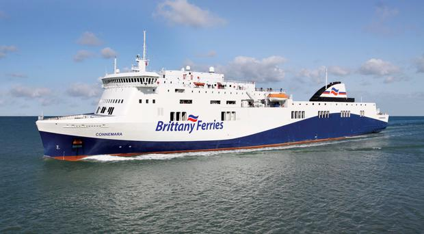 Brittany Ferries 'Connemara' will sail from Cork to Santander (artist's impression).