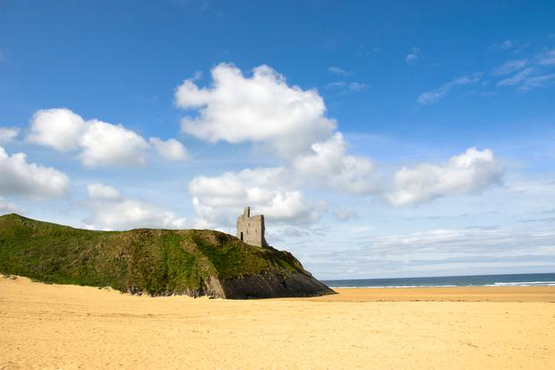 Ballybunion Castle, Co. Kerry. Photo: Deposit