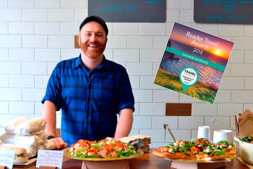 Garrett Fitzgerald of Brother Hubbard, winner of 'Ireland's Best Breakfast' in our Reader travel Awards 2018