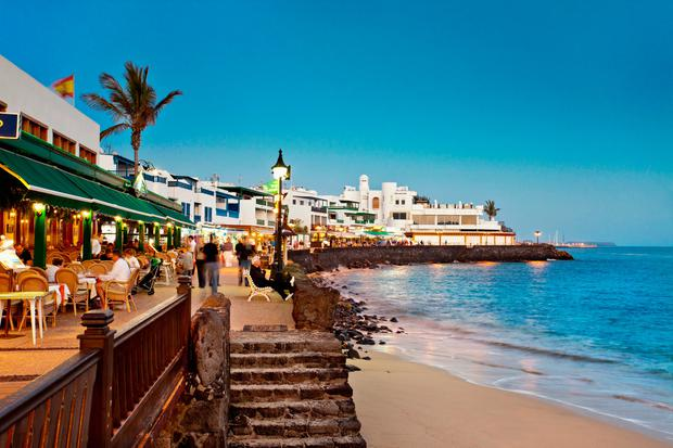 Pleasure island: Playa Blanca in Lanzarote