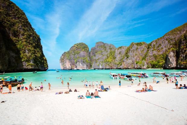You can't go to Thailand's famous beach from DiCaprio's The Beach anymore