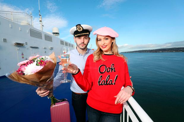 Sacha Livingstone and Nicky Irvine get ready to avail of Stena Lines latest offer.