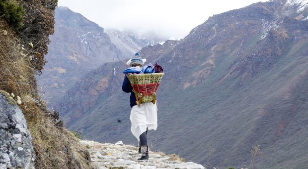 'I woke up with frost on my forehead' - One woman's epic trek across the Himalayas with no modern gear
