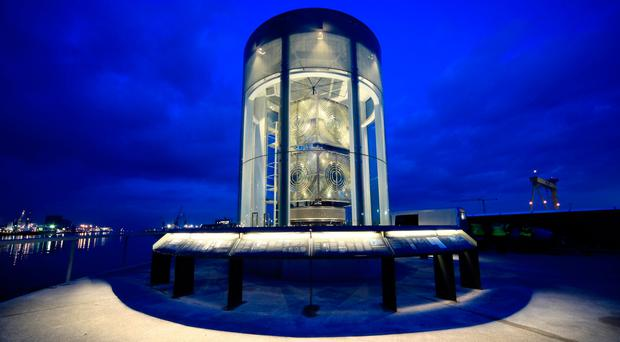 Northern Lights: New Titanic Walkway and 'Great Light' open in Belfast