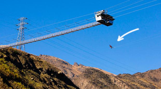 Would you try the world's biggest swing? Six daredevil trips for travel junkies