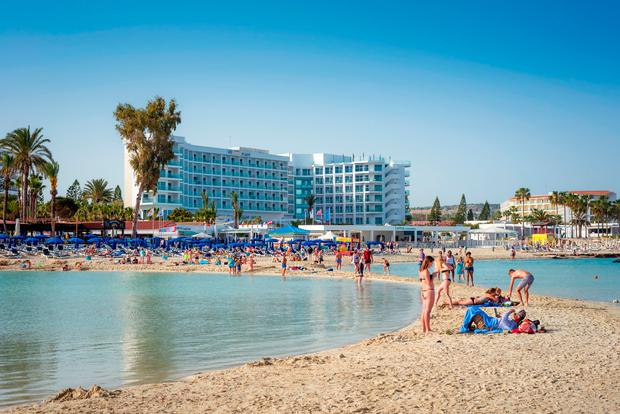 Nissi beach at Ayia Napa, Cyprus. Photo: Deposit