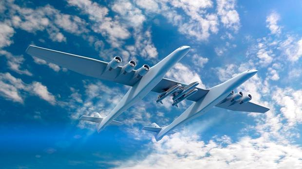 Stratolaunch artist's impression. Photo: Stratolaunch.com