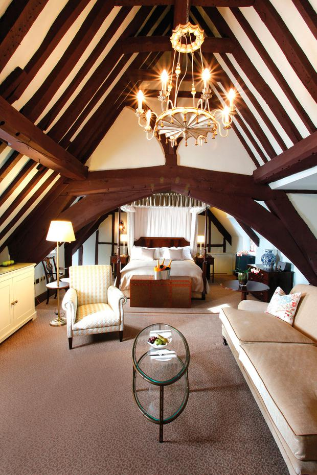 The Istabraq Suite at Ellenborough Park Hotel. PA Photo/Ellenborough Park.