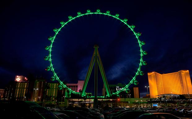pic 2 - HIGH ROLLER AT THE LINQ IN LAS VEGAS (UNITED STATES) JOINS TOURISM IRELAND'S GLOBAL GREENING.jpg