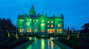 Adare Manor goes green for St Patrick's Day